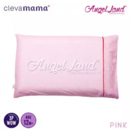image of Clevamama Replacement Toddler Pillow Cover - Pink - CM7510