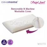 Clevamama Replacement Toddler Pillow Cover - White - CM7222
