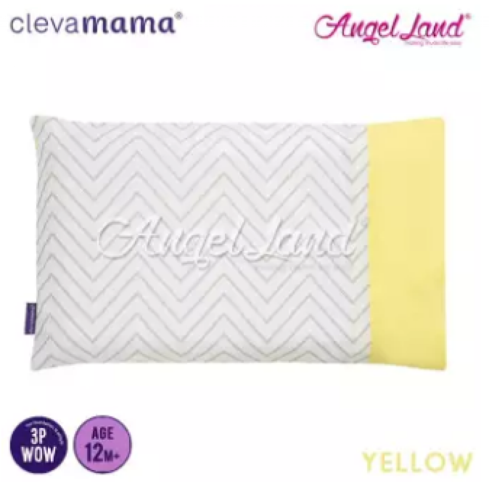 Clevamama Replacement Toddler Pillow Cover - Yellow - CLE3308