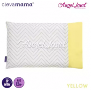 image of Clevamama Replacement Toddler Pillow Cover - Yellow - CLE3308