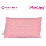 Clevamama Replacement Travel Pillow Cover Pink CM7543