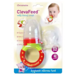 Clevamama ClevaFeed  Silicone Safe Feeder With Extra Teat-CM7012 + Clevamama ClevaFeed - Silicone Safe Feeder Replacement Teat - CM7011