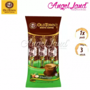 image of OLDTOWN White Coffee 3-in-1 Hazelnut Instant Premix White Coffee Convenient Pack (3'S X 1)