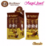 OLDTOWN White Coffee 3-in-1 Classic Instant Premix White Coffee Convenient Box (3'S X 10) (2 Boxes) [FOC Mystery Gift]
