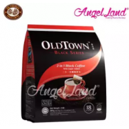 image of OLDTOWN Black Series 2 in 1 Black Coffee with Sugar Added