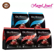 image of OLDTOWN Black Series Black Coffee (2packs) + OLDTOWN Black Series 2 in 1 Black Coffee with Sugar Added (3 packs)