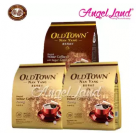 image of OLDTOWN Nan Yang White Coffee O Kosong (2packs) + With Sugar Added (1 pack)