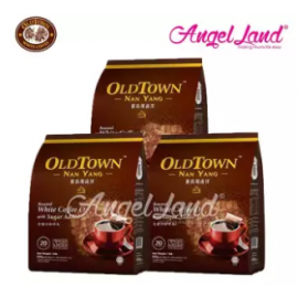 image of OLDTOWN Nan Yang White Coffee O With Sugar Added (3 packs)