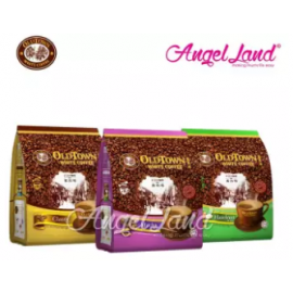 image of OLDTOWN White Coffee 3 in 1 Instant Premix White Coffee x 3Packs (Mocha+Classic+Hazelnut)