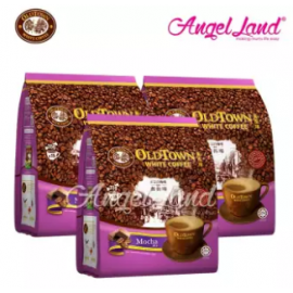 image of OLDTOWN White Coffee 3 in 1 Instant Premix White Coffee x 3Packs Mocha
