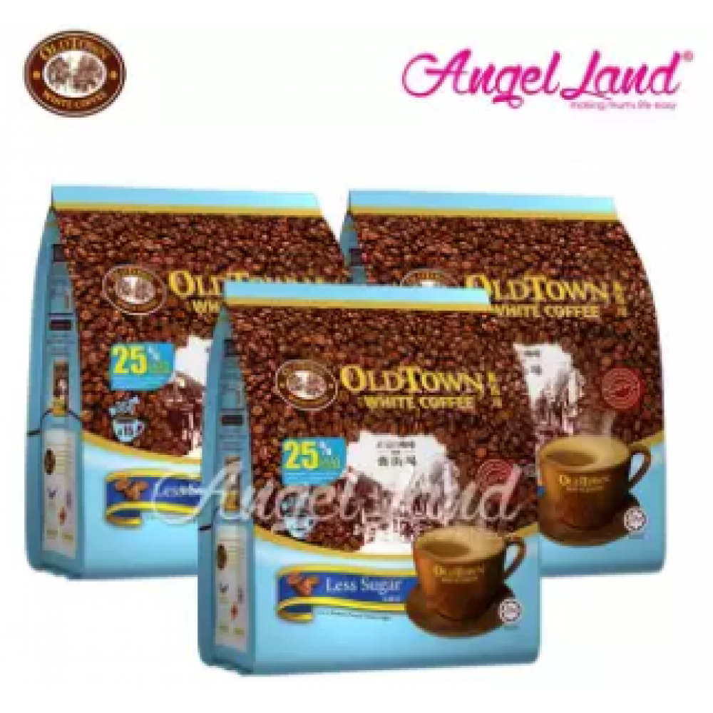 OLDTOWN White Coffee 3 in 1 Instant Premix White Coffee x 3Packs Less Sugar