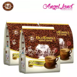 image of OLDTOWN White Coffee 3 in 1 Instant Premix White Coffee x 3Packs Cane Sugar