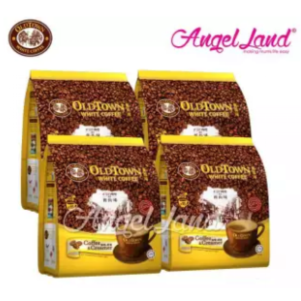 OLDTOWN White Coffee 3 in 1 Instant Premix White Coffee x 4Packs Coffee & Creamer