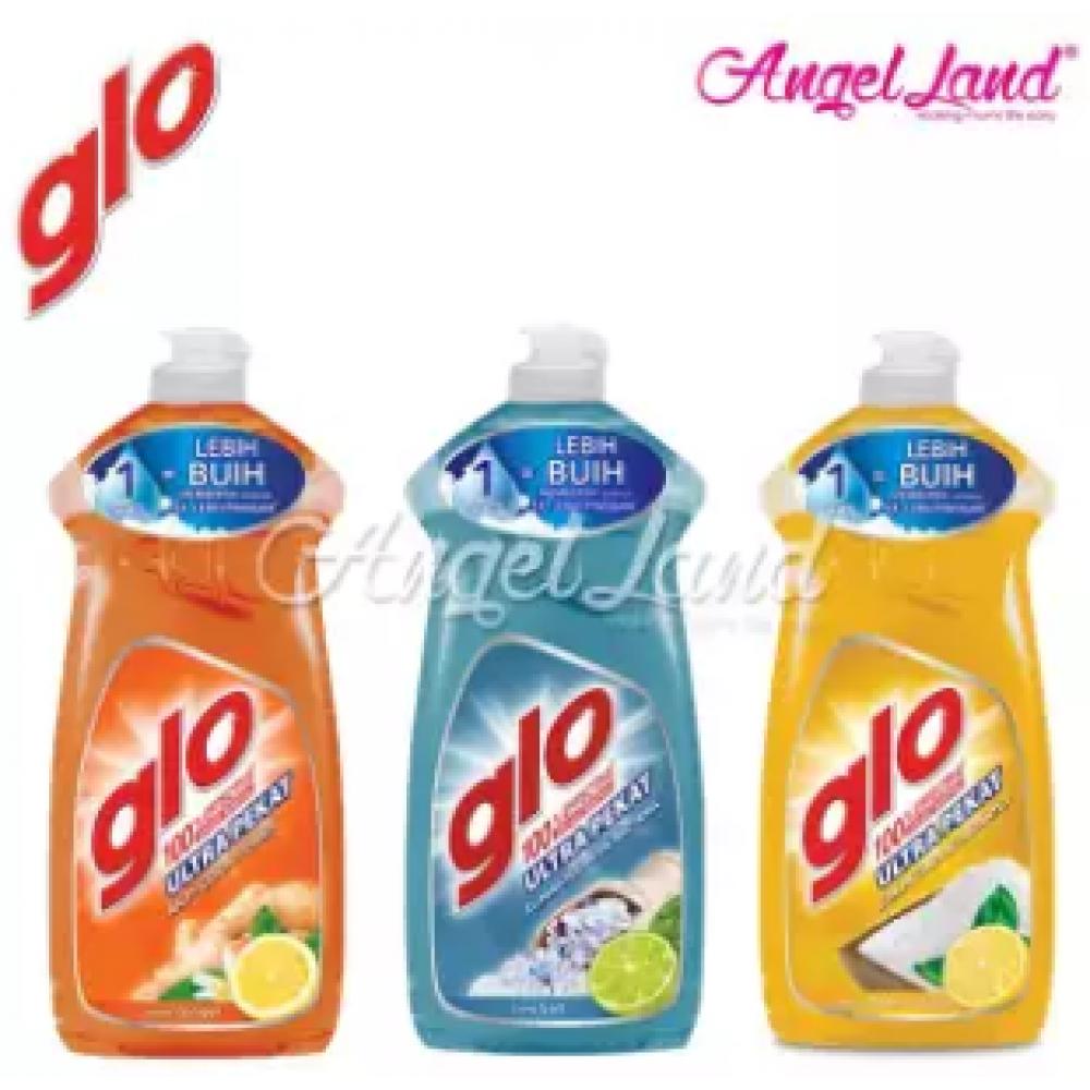 Glo Ultra Pekat Lemon Baking Soda Dishwashing Liquid 800ml