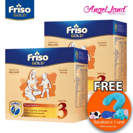 image of Friso Gold Young Explorer Step 3 Milk Powder (1+years) 400gx3 (2 packs) Free Pillow Random x 1