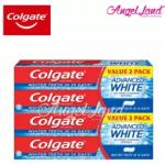 Colgate Advanced White Whitening Toothpaste Valuepack 160g x 2 [Bundle of 2]