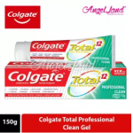 Colgate Total Professional Clean Gel Toothpaste 150g [Bundle of 3]
