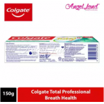Colgate Total Professional Breath Health Toothpaste 150g [Bundle of 3]