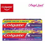 Colgate Sugar Acid Neutraliser Cool Mint Toothpaste Valuepack 225g x 2 [Bundle of 2]