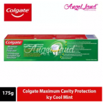 Colgate Maximum Cavity Protection Icy Cool Mint Toothpaste 175g [Bundle of 2]