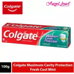 Colgate Maximum Cavity Protection Fresh Cool Mint Toothpaste 100g [Bundle of 2]