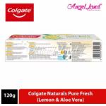 Colgate Naturals Pure Fresh (Lemon & Aloe Vera) Toothpaste 120g
