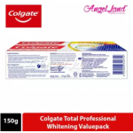 Colgate Total Professional Whitening Toothpaste Valuepack 150g x 2