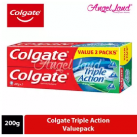 image of Colgate Triple Action Toothpaste Valuepack 200g x 2