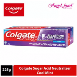 image of Colgate Sugar Acid Neutraliser Cool Mint Toothpaste 225g