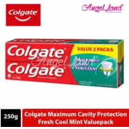 image of Colgate Maximum Cavity Protection Fresh Cool Mint Toothpaste Valuepack 250g x 2