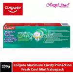 Colgate Maximum Cavity Protection Fresh Cool Mint Toothpaste Valuepack 250g x 2