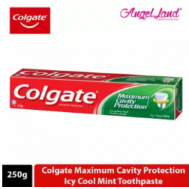 image of Colgate Maximum Cavity Protection Icy Cool Mint Toothpaste 250g