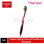 Colgate ZigZag Charcoal Toothbrush Valuepack (Soft) - 5s