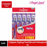 image of Colgate ZigZag Toothbrush Valuepack 5s - Soft