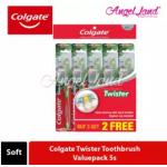 Colgate Twister Toothbrush Valuepack 5s - Soft