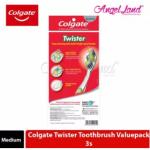 Colgate Twister Toothbrush Valuepack 3s -Medium