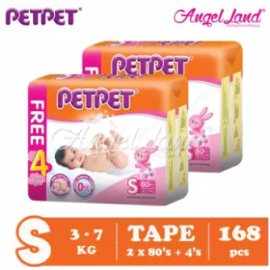 image of PETPET Tape Mega Pack S80+4/M72+4/L60+4/XL48+4 (2packs)