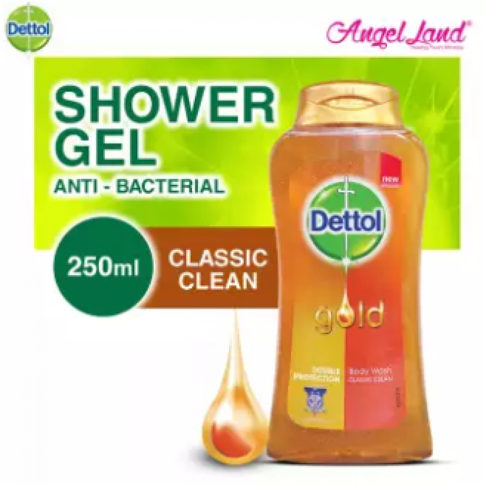 Dettol Gold Shower Gel Classic Clean 250ML