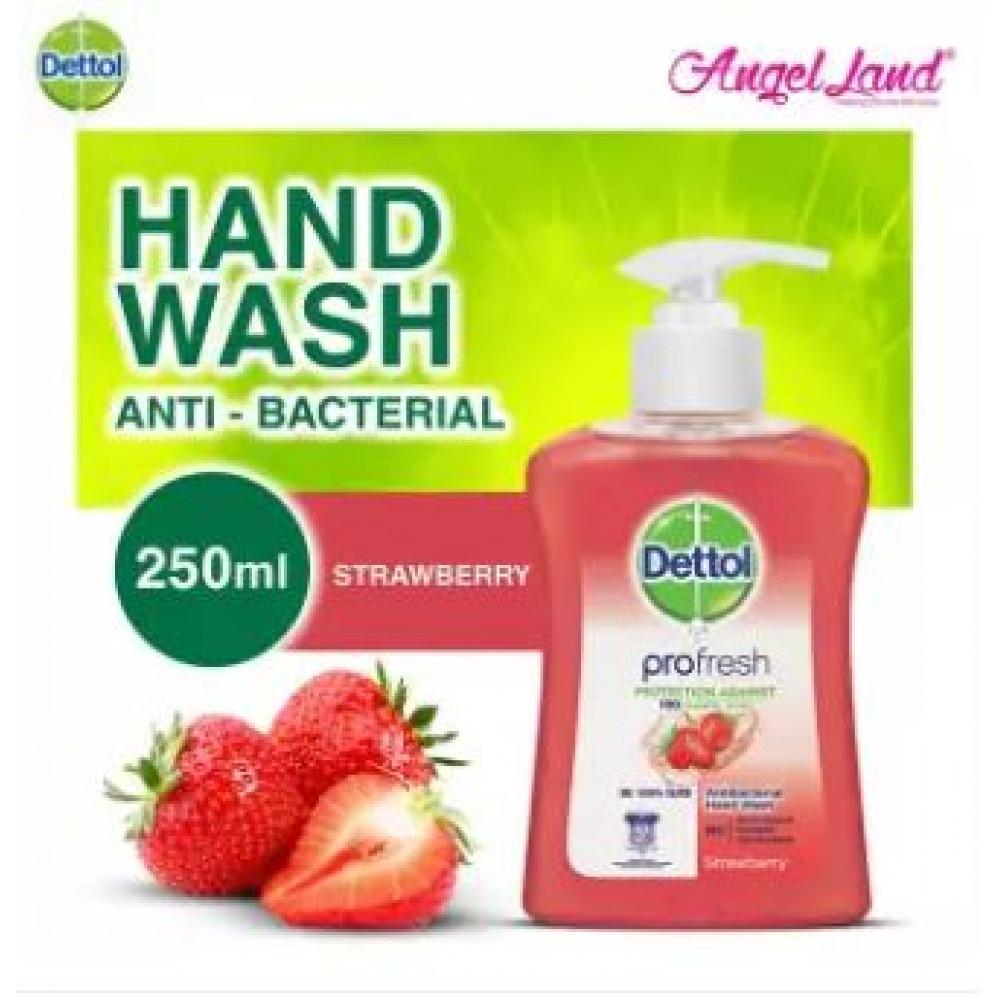 Dettol Hand Wash Strawberry 250ml
