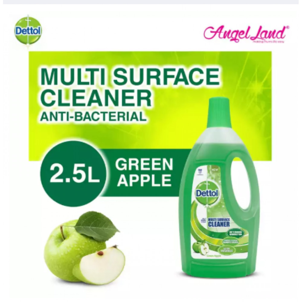 Dettol Multi Action Green Apple 2.5L