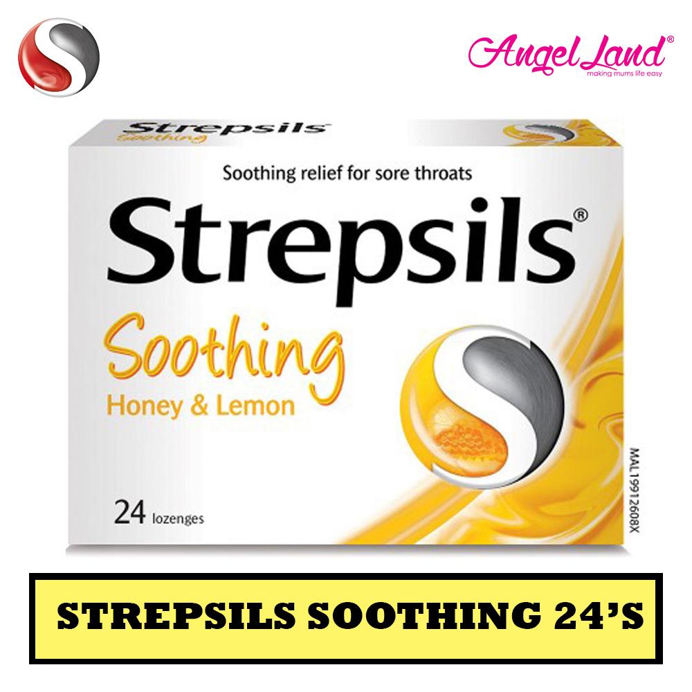 Strepsils Honey Lemon Soothing 24's