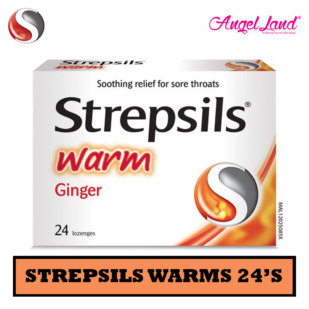 Strepsils Orange with Vitamin C 24's