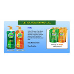 Dettol Gold Shower Gel Daily Clean 900ml Refill Pouch Twin Pack