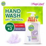 Dettol Hand Wash Sensitive 250ml x 3 Value Pack - 3021245