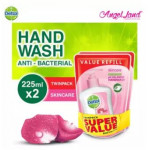 Dettol Hand Wash Skincare Refill Pouch Twin Pack 2x225ML -8133420