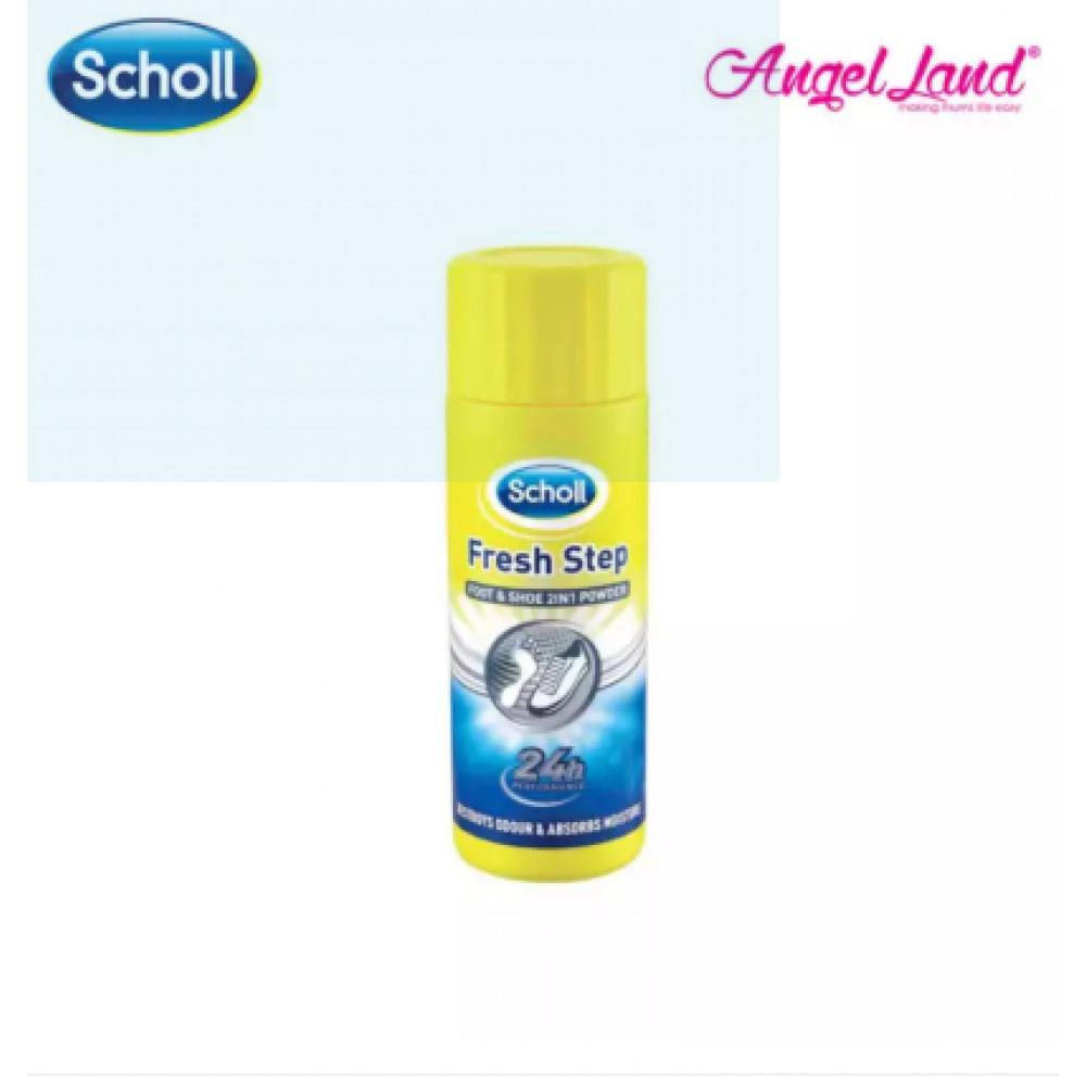 Scholl Fresh Step Foot & Shoe 2 In 1 Powder 75G