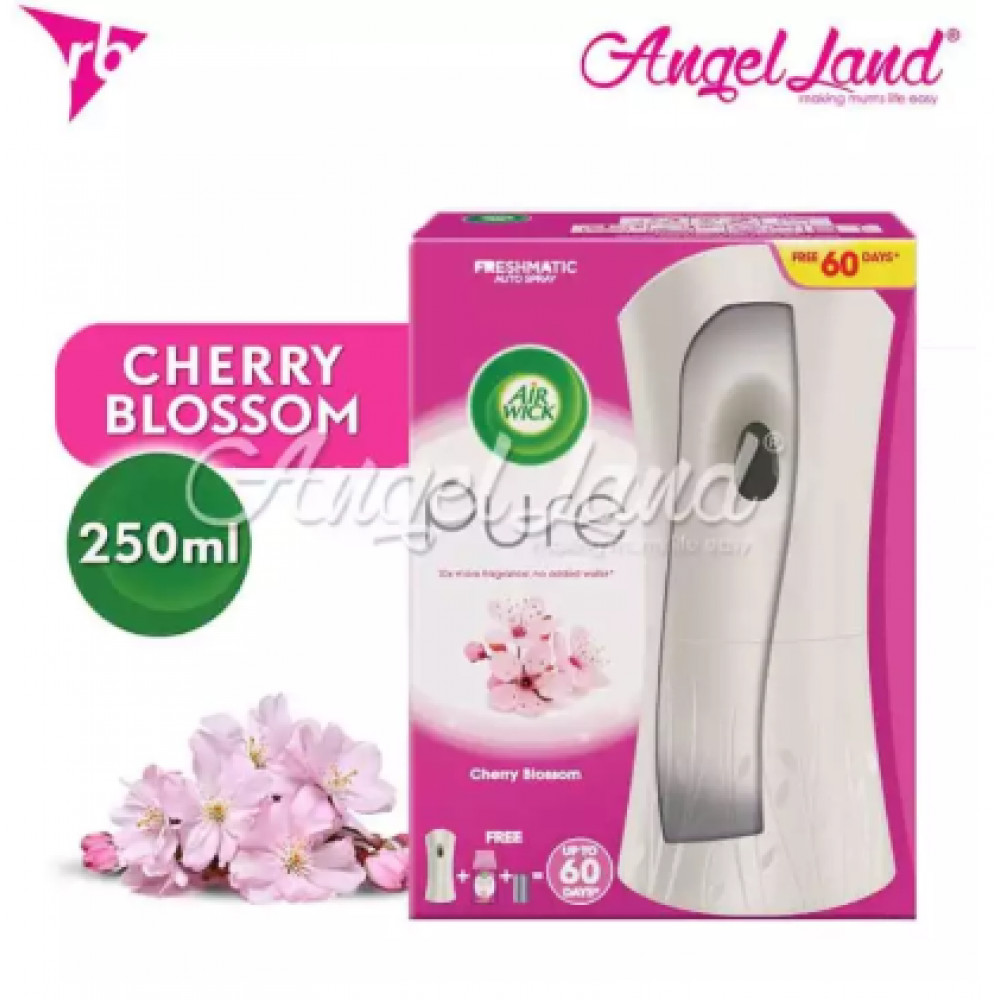 Air Wick Pure Freshmatic Cherry Blossom Automatic Spray Starter Kit 1pc