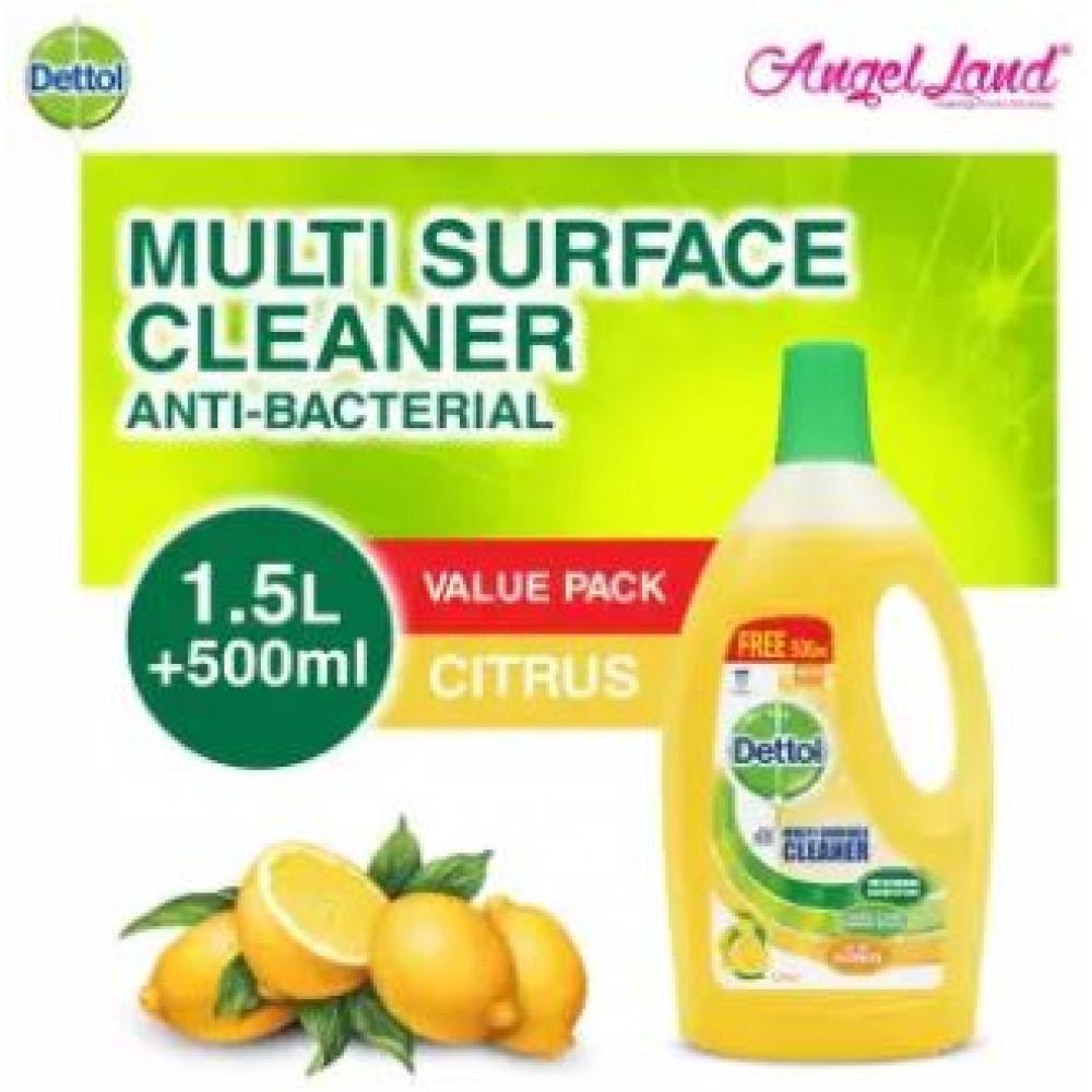 Dettol Multi Action Citrus 1.5L Free 33%