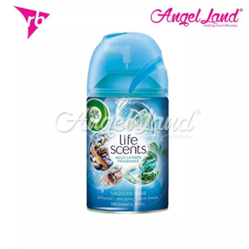 Air Wick Life Scent Freshmatic Turquoise Oasis Refill 250ml