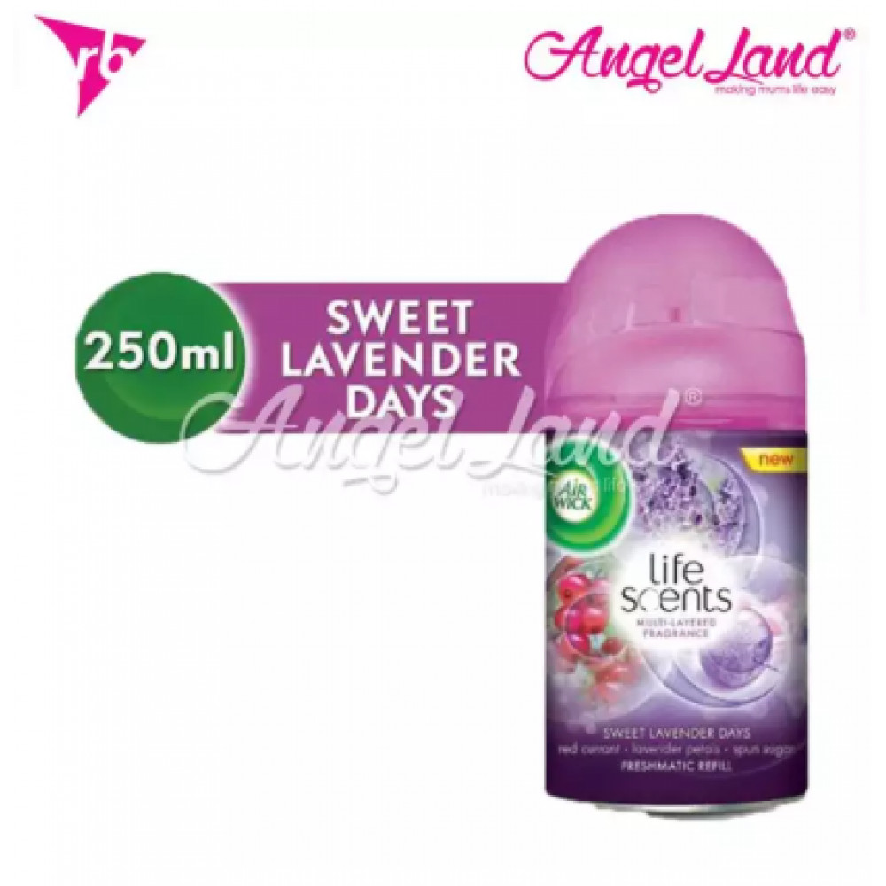 Air Wick Life Scent Freshmatic Sweet Lavender Days Refill 250ml